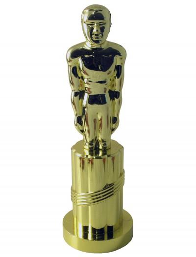 Gold Plastic Award Statue, halloween costume (Gold Plastic Award Statue)
