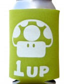 1 Up Mario Can Koozie, halloween costume (1 Up Mario Can Koozie)