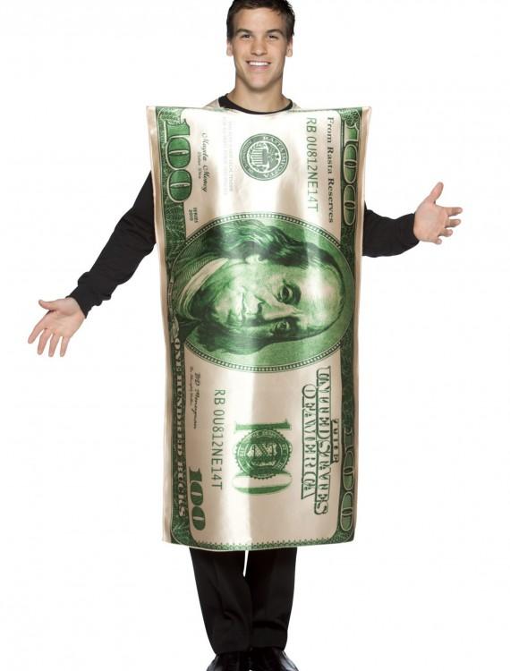 100 Dollar Bill Costume, halloween costume (100 Dollar Bill Costume)