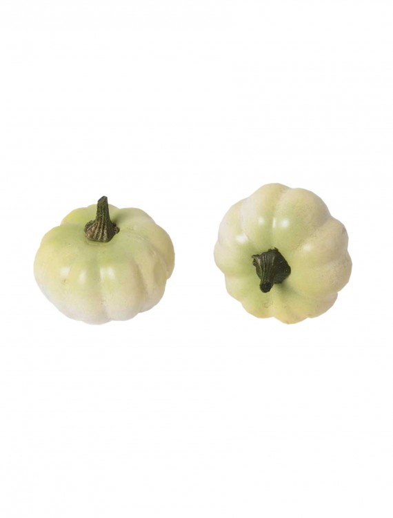 12-Piece Small White Pumpkins Set, halloween costume (12-Piece Small White Pumpkins Set)