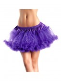 "12"" Purple 2-Layer Petticoat, halloween costume (12"" Purple 2-Layer Petticoat)"