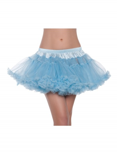 "12"" Sky Blue 2-Layer Petticoat, halloween costume (12"" Sky Blue 2-Layer Petticoat)"