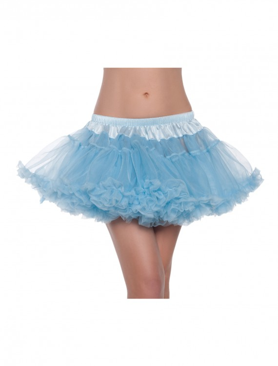 "12"" Sky Blue 2-Layer Petticoat, halloween costume (12"" Sky Blue 2-Layer Petticoat)"