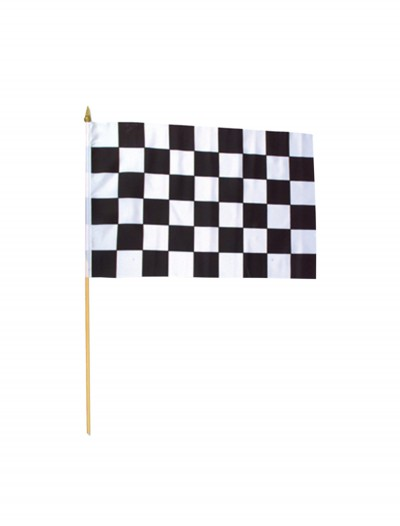 "12"" X 18"" Polyester Racing Flag, halloween costume (12"" X 18"" Polyester Racing Flag)"