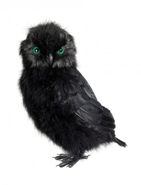 14 Inch Black Owl, halloween costume (14 Inch Black Owl)