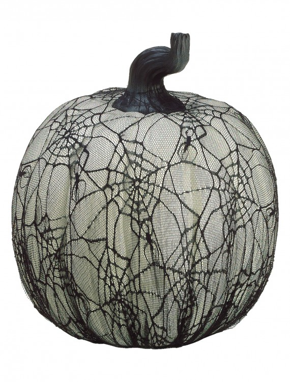 16 inch Spider Web Pumpkin, halloween costume (16 inch Spider Web Pumpkin)