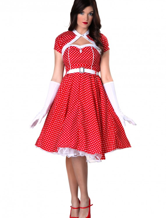1950s Sweetheart Dress, halloween costume (1950s Sweetheart Dress)