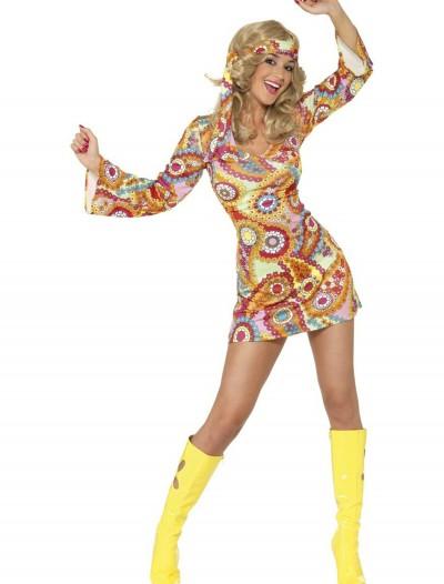 1960s Paisley Hippie Costume, halloween costume (1960s Paisley Hippie Costume)