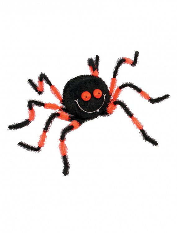 "20"" Posable Friendly Spider OR/BK, halloween costume (20"" Posable Friendly Spider OR/BK)"
