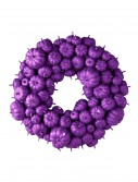 "24"" Purple Glitter Pumpkin Wreath, halloween costume (24"" Purple Glitter Pumpkin Wreath)"