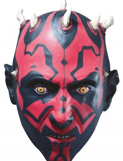 3/4 Vinyl Darth Maul Mask, halloween costume (3/4 Vinyl Darth Maul Mask)