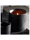 3 Inch Black Glitter LED Candle, halloween costume (3 Inch Black Glitter LED Candle)