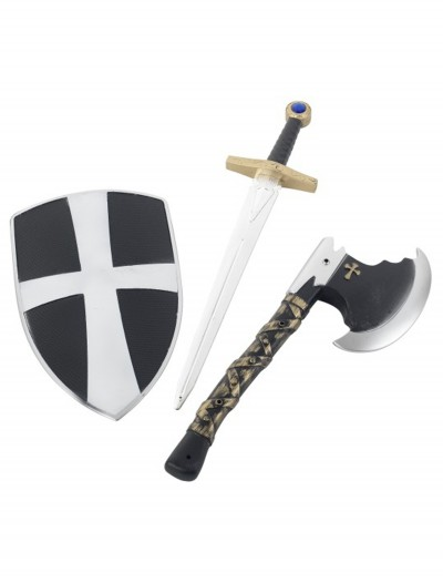 3 Piece Crusader Set, halloween costume (3 Piece Crusader Set)