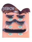 4 Piece Eyebrow Set, halloween costume (4 Piece Eyebrow Set)
