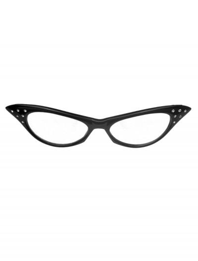 50s Black Frame Glasses, halloween costume (50s Black Frame Glasses)