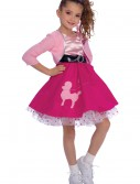 50s Girl Costume, halloween costume (50s Girl Costume)