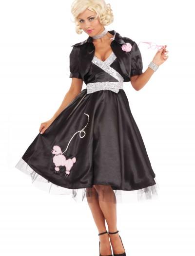 50s Poodle Diva Costume, halloween costume (50s Poodle Diva Costume)