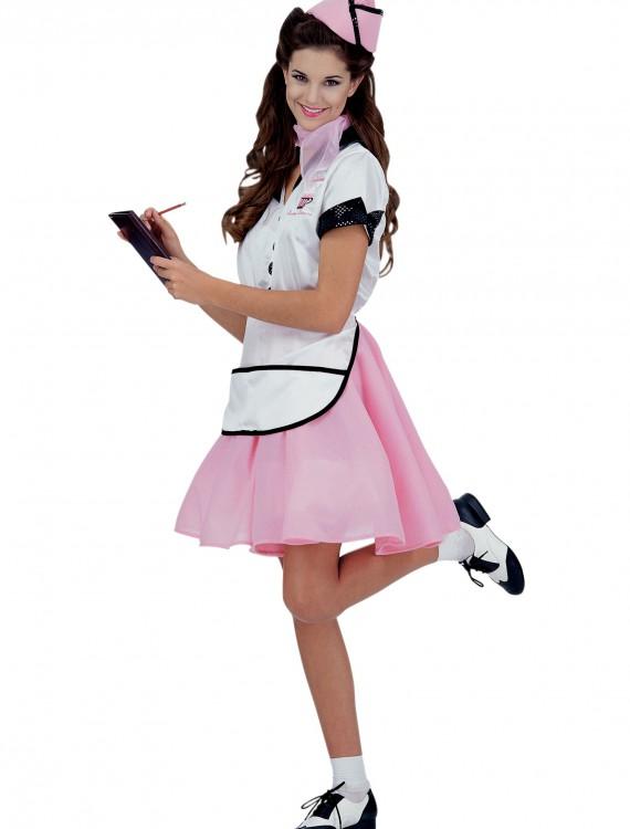 50s Soda Pop Girl Costume, halloween costume (50s Soda Pop Girl Costume)