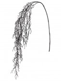 59 Inch Glittery Black Hanging Twig Spray, halloween costume (59 Inch Glittery Black Hanging Twig Spray)