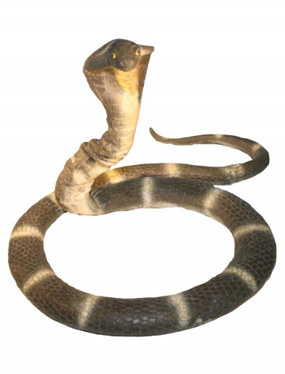 6 Foot Foam Cobra Snake, halloween costume (6 Foot Foam Cobra Snake)