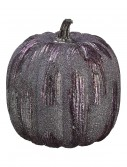 "6"" Purple Glittered Pumpkin, halloween costume (6"" Purple Glittered Pumpkin)"