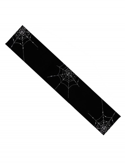 6' Spider Web Table Runner, halloween costume (6' Spider Web Table Runner)