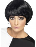 60s Black Psychedelic Wig, halloween costume (60s Black Psychedelic Wig)