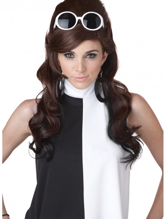 60s Mod Wig, halloween costume (60s Mod Wig)