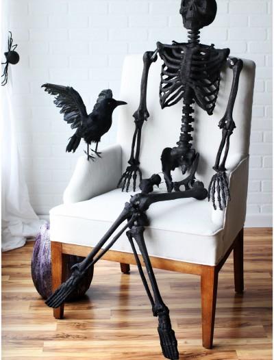 """63"""" Black Glitter Skeleton, halloween costume (63"""" Black Glitter Skeleton)"""
