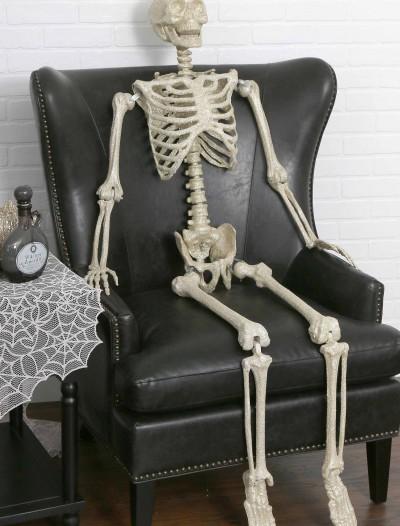 """63"""" Silver Glitter Skeleton, halloween costume (63"""" Silver Glitter Skeleton)"""