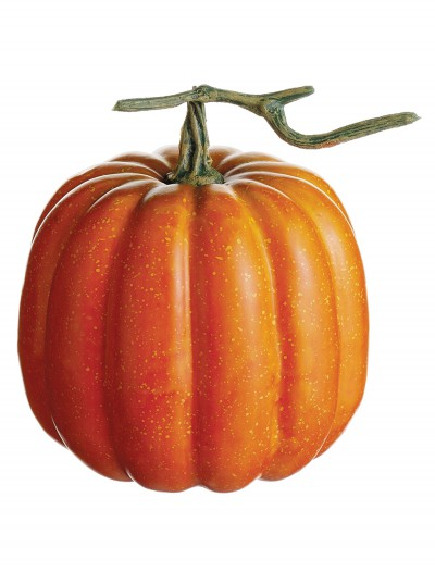 6.5 inch Weighted Pumpkin with Vine, halloween costume (6.5 inch Weighted Pumpkin with Vine)