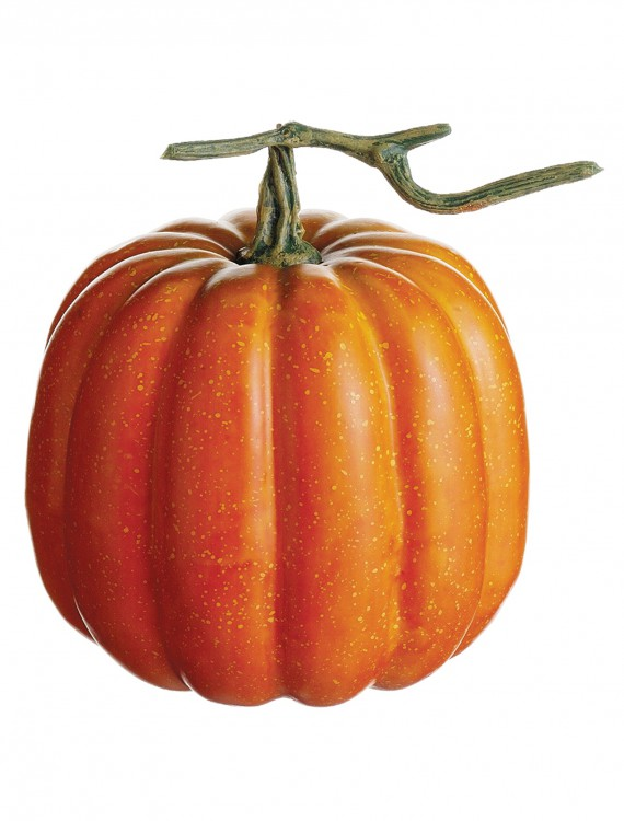 6.5 inch Weighted Pumpkin with Vine, halloween costume (6.5 inch Weighted Pumpkin with Vine)