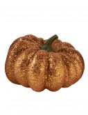 "6.5"" Round Orange Glitter Pumpkin, halloween costume (6.5"" Round Orange Glitter Pumpkin)"