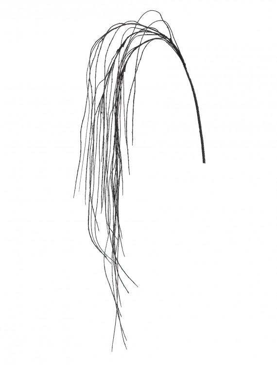 69 Inch Black Weeping Willow Spray, halloween costume (69 Inch Black Weeping Willow Spray)