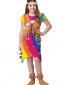 70s Flower Child Costume, halloween costume (70s Flower Child Costume)