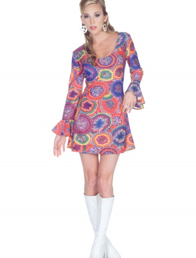 70s Sexy Psychedelic Dress, halloween costume (70s Sexy Psychedelic Dress)