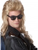 80s Blonde Rock Mullet Wig, halloween costume (80s Blonde Rock Mullet Wig)