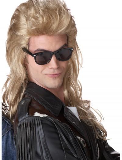80s Blonde Rock Mullet Wig, halloween costume (80s Blonde Rock Mullet Wig)