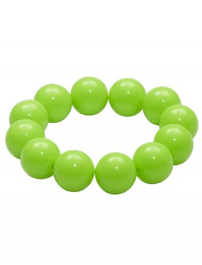 80's Green Gumball Bracelet, halloween costume (80's Green Gumball Bracelet)