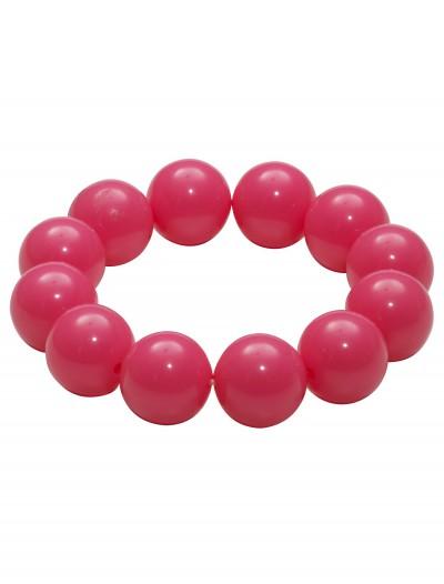 80's Pink Gumball Bracelet, halloween costume (80's Pink Gumball Bracelet)