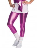 80s Pink Lame Leggings, halloween costume (80s Pink Lame Leggings)