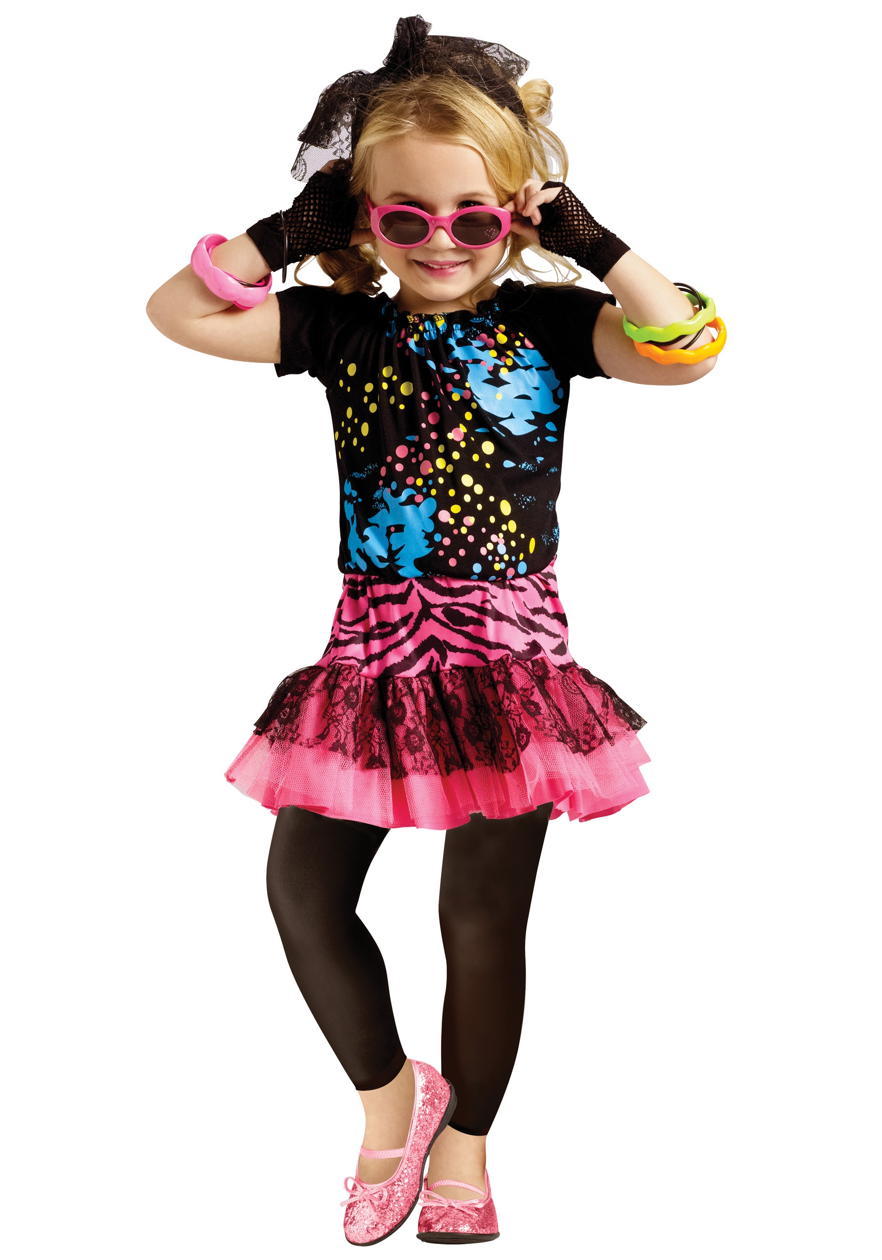 80s Pop Party Toddler Costume  sc 1 st  Halloween Costumes & 80s Pop Party Toddler Costume - Halloween Costumes