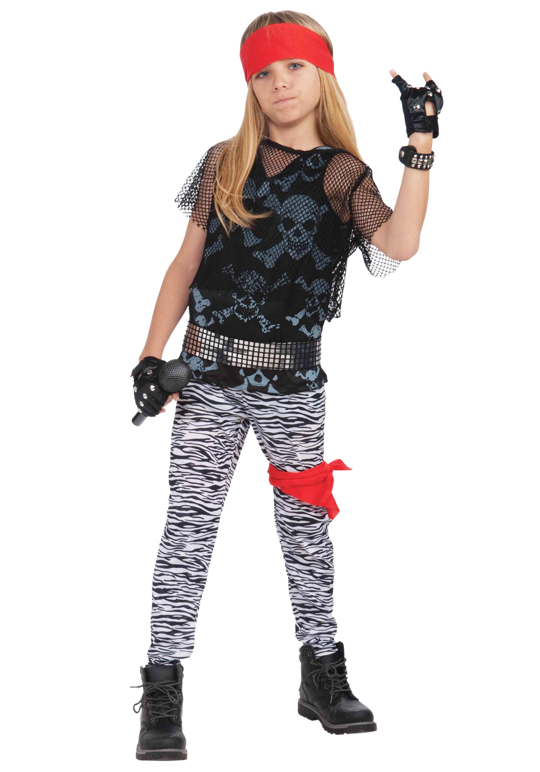 80s Rock Star Boy Costume  sc 1 st  Halloween Costumes : girls rock star costumes  - Germanpascual.Com