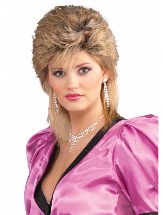 80's Salon Wig, halloween costume (80's Salon Wig)
