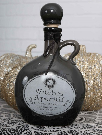 "8.5"" Witch's Black Potion Bottle, halloween costume (8.5"" Witch's Black Potion Bottle)"