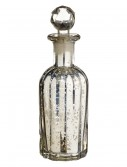 9 inch Mercury Glass Perfume Bottle, halloween costume (9 inch Mercury Glass Perfume Bottle)