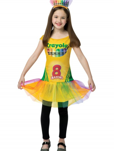 Child Tutu Crayon Dress, halloween costume (Child Tutu Crayon Dress)