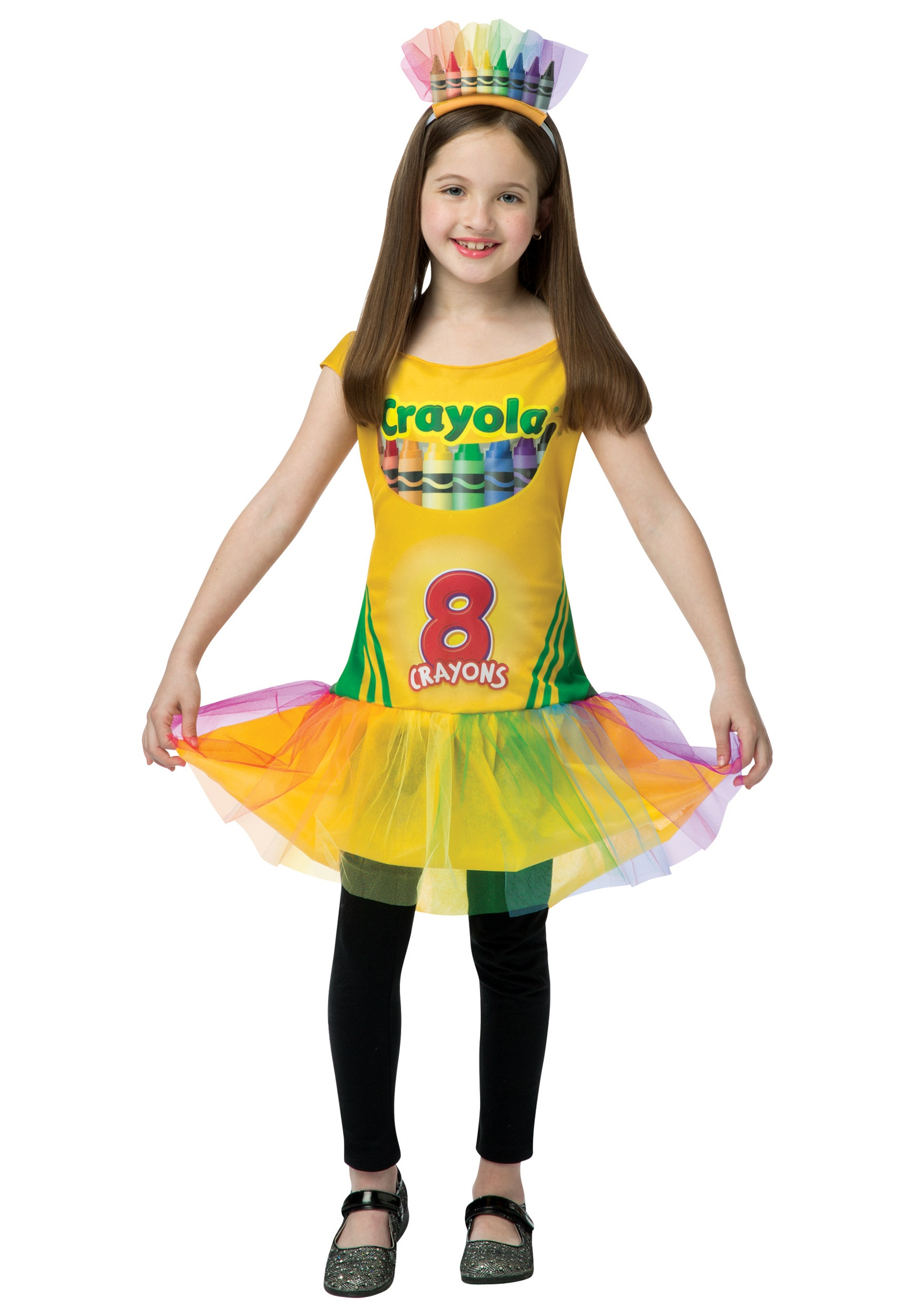 Child Tutu Crayon Dress  sc 1 st  Halloween Costumes : crayon costumes for girls  - Germanpascual.Com