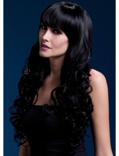 Styleable Fever Isabelle Black Wig, halloween costume (Styleable Fever Isabelle Black Wig)