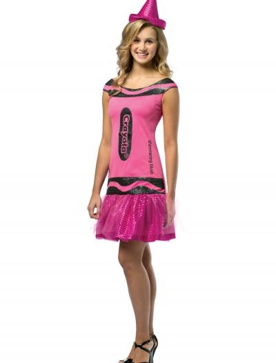 Teen Crayola Blush Glitz Dress, halloween costume (Teen Crayola Blush Glitz Dress)